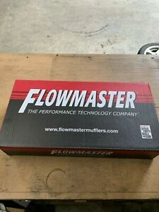 Flowmaster 42441 40 Series 2 1 4 Muffler O S In Center Out Black