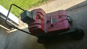 Industrial Yard parking Lot Leaf litter Vacuum Sweeper Vacuum With Charger