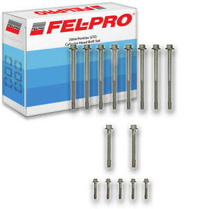 Fel Pro Cylinder Head Bolt Set For 2004 Pontiac Gto Felpro Engine Piston Ic