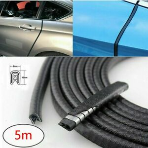 5m Car Door Seal Strip Rubber Weatherstrip Protector Edge Trim Guard Pinchweld