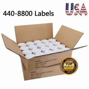 Shipping Labels Rolls Print 4 X 6 Extra Large Office Home Dymo 4xl Labelwriter