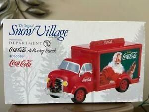 Department 56 Coca Cola Delivery Truck 4035586 FREE SHIPPING
