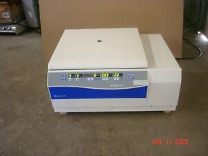 Fisher Scientific Accuspin 3r Refrigerated Centrifuge W 4393 Rotor Buckets