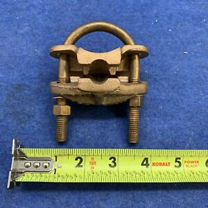Direct Burial Copper Ground Clamp 1 5 8 1 7 8 Rod New Free Shipping