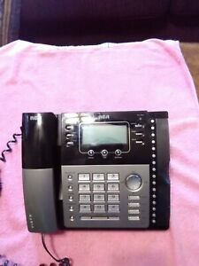 Vintage Rca 4 Line Telefield Business Phone Model 25424re1 a S no 800090948