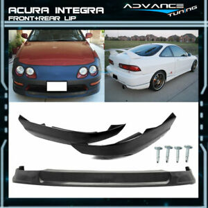 Fits 94 97 Acura Integra Concept Pu Front T r Abs Rear Lip