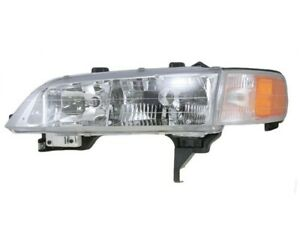 Left Lh Headlamp Assembly Sdn With Park signal Lamp Fits 1994 1997 Honda Accord