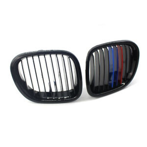 For 1996 02 Bmw Z3 Grille Z series Front Kidney Grille Grill Gloss Black M Color
