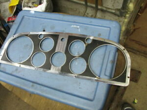 1934 Cadillac Instrument Cluster Face Plate