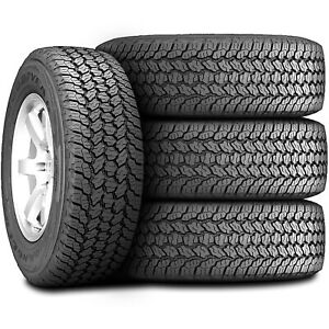 4 Goodyear Wrangler All Terrain Adventure With Kevlar 255 65r17 110t A T Tires