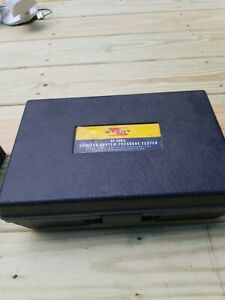 Usa Stant St 255 Cooling System And Pressure Cap Tester With Manual