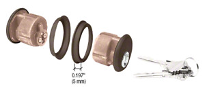 Schlage Sc1 Key Type Commercial Storefront Door 1 Mortise Cylinder Key By Pair