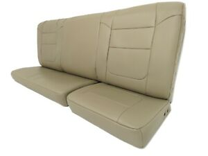 Ford Super Duty Supercab Extended Cab Leather Rear Seat Tan 2000 2007