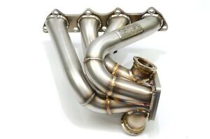 1320 Performance B Series Forward Facing Turbo Manifold T4 B16 B18 B20 Blemish