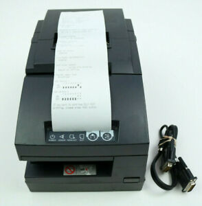 Epson Tm h6000ii Model M147g Pos Thermal Receipt Printer Serial Cable