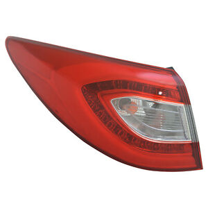 New Premium Fit Driver Side Outer Tail Light Assembly 924012s520 Nsf