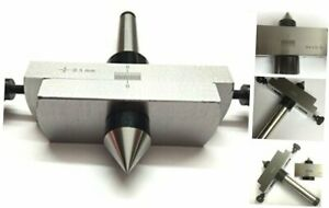 Taper Metal Turning Attachment In 2mt Shank For Off setting Lathe s Tailstock