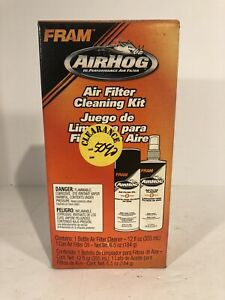 Fram Airhog Pk1 Air Filter Cleaning Kit K n Compatable New