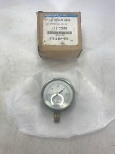 Ashcroft 2c639 Low Pressure Gauge 25 1490a 02l 30 Iw 2 1 2 Face New Old Stock
