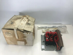 Cutler Hammer C361nc Non fusible Disconnect Switch 30a 600v Ser B1 New Open Box