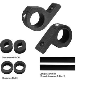 4pcs Led Bar Mount Bracket Light Clamp For Roof Roll Cage 1 1 5 1 75 2 Inch