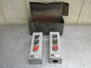 General Electric Cr2943na103l Pushbuttom Station Start Jog Stop Switch 600v