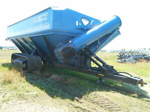 2012 Kinzes 1500 Grain Cart On Tracks Sn 95010