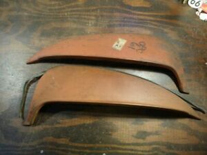 Nos 1961 Olds F 85 Pontiac Tempest Stainless Fender Skirts Opc 61 Sk430