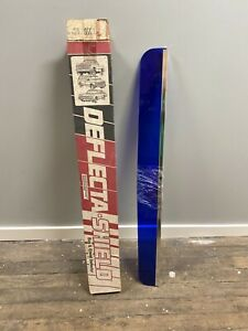 Nos Vintage Deflecta shield Bug Deflector Style Blue 88 83 Ford Ranger Bronco Ii