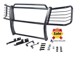 Fits 2003 2006 Chevy Silverado 1500 Black Grill Brush Guards