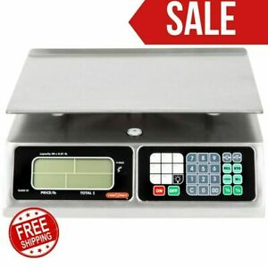 Torrey Lpc 40l 40lb Portable Price Computing Scale Ntep Legal Usa new Limitted