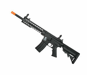 Lancer Tactical LT 19 G2 Keymod 10quot; High Velocity Electric Airsoft Rifle BK $169.00