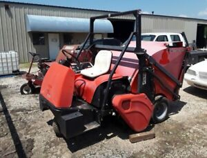 Smithco Sweepstar 48h 1100 Hours Kohler 25hp Runs Works Great