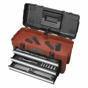 Craftsman 185 Piece Mechanics Tool Set With 3 Drawer Chest