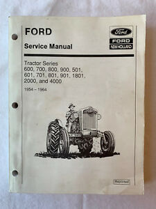 Ford Service Manual Tractor Series 6 7 8 900 5 6 7 8 901 1801 2000 4000 lt346