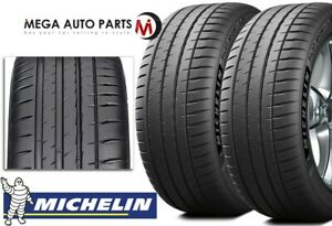 2 Michelin Pilot Sport 4s 4 S 255 35r18 94y Max Performance Summer Tires