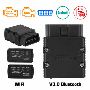 Wifi bluetooth Wireless Obd2 Obdii Elm327 Diagnostic Scanner For Iphone Android