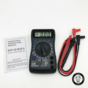 Mini Digital Multimeter With Overload Protection Voltmeter Ampere Ohm Tester