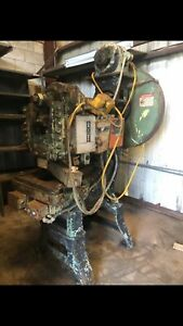Vintage Toledo No 17 22 ton Capacity Obi Single Crank Stamping Press