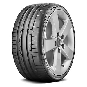 One New Continental Sportcontact 6 255 30zr20 92y Xl High Performance Tire