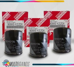 Toyota Oil Filter 90915 Yzzd1 Pack Of 3 Same Day Shipping Priority Mail 2 4
