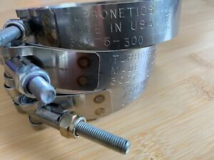 Turbonetics 30275 300 Hose Clamp 3 T Bolt Clamp Good Condition