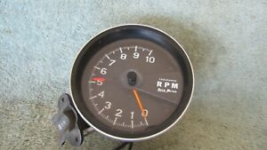 Autometer Tachometer 0 10 000 Rpm Model 390 89 Magneto Or Standard 5 1970 s