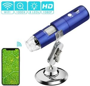 Rotek 50x And1000x Wireless Digital Microscope Magnification With Hd 1080p 2mp