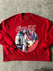 Christmas Coca-cola Jumper Womens Size S