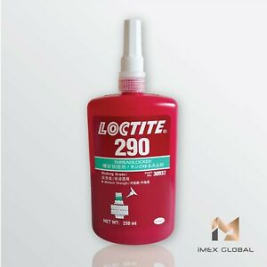 1 X Loctite 290 Threadlocker Green Medium Strength 250ml Free Shipping Tracking