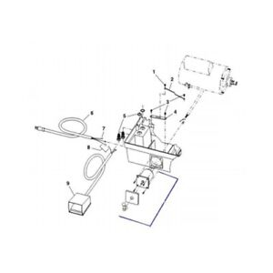 Ridgid 20133 Switch Assembly For 1822 i Pipe And Bolt Threading Machine