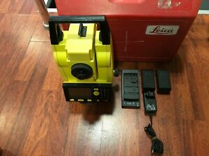 Leica Builder R200mp Power Set Theodolite R200m Calibrated Free Ship