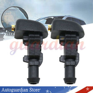 2x Windshield Wiper Washer Fluid Jet Nozzle For Ford F 150 2004 2014 3w7z17603aa