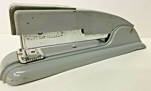 Vintage Swingline 27 Metal Stapler Gray Heavy Duty Long Island 1950 s
